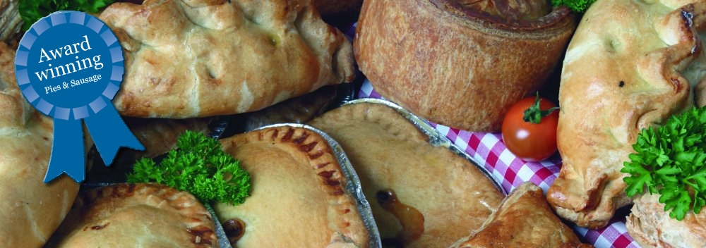 Wholesale pies, pasties and sausage rolls from Potters of Barnsley, South Yorkshire