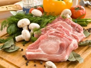 Pork chops - from Potters of Barnsley butchers shop