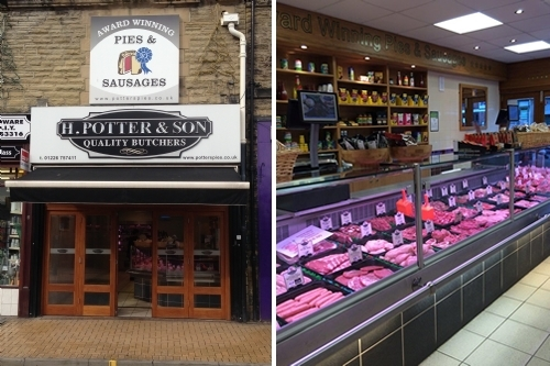 Potters of Barnsley Butchers Shop, Wombwell